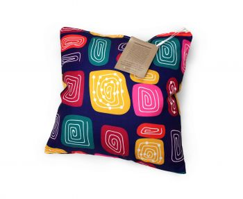Cushion Aboriginal Design - Gogo Wundu (Water Forest Country) - Jedess Hudson