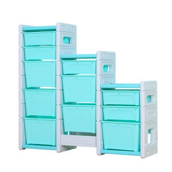 ALL 4 KIDS Hanna Combined Storage Unit - Blue