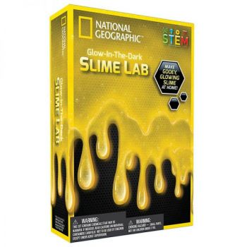 Glow in the Dark Slime Lab - Yellow