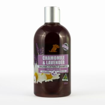 Smiley Dog Organic Chamomile & Lavender Shampoo 500ml