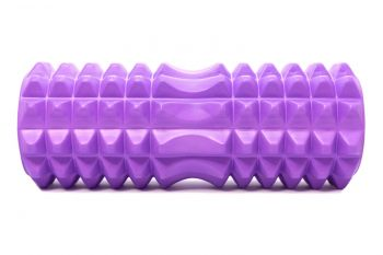 Mad Ally Textured Foam Roller Colour; Purple