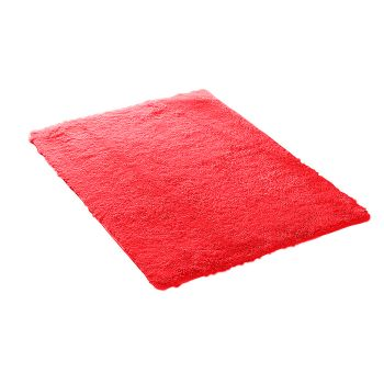 Designer Shaggy and Soft Home Decor Floor Rug 80x120cm in Red