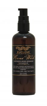 Euclove Handwash Lavender & Rose Geranium 300 ml Carton of 6 pieces