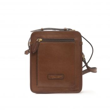 The Bridge Marrone Messenger Bag