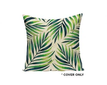 Indoor Cushion COVER - Veracruz Palms - 45x45