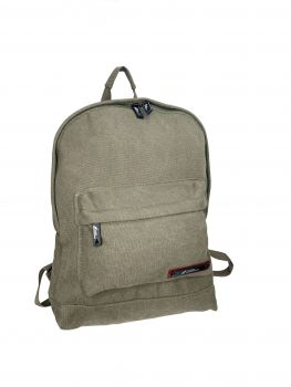 CAMEL MOUNTAIN CANVAS BACKPACK GREEN