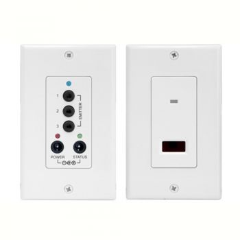 Ir InfraRed Remote Control Extender Wall Plates KIT