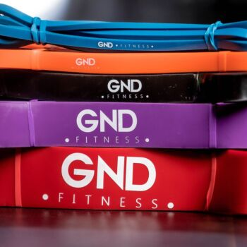 GND Fitness Resistance Bands // 5 Weight Options