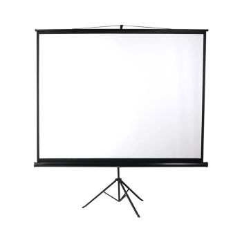 Portable Projector Screen Medium Tripod Stand 120 Inches