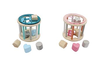 PRICE FOR 2 ASSORTED CALM & BREEZY ROLLING SHAPE SORTER