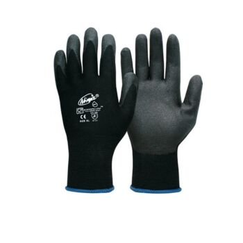Ninja Work Safety Glove Nitril Coat 2Pairs