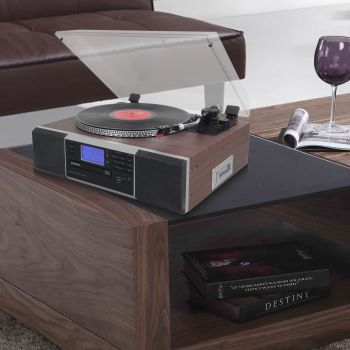 HOME ENTERTAINMENT W/TURNTABLE & BT FUNCTION