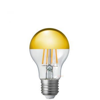 9W A60 GLS Gold Crown Dimmable Filament LED Light Bulb E27 Edison Screw