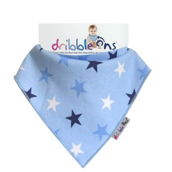 DRIBBLE ONS  BIB Blue Star
