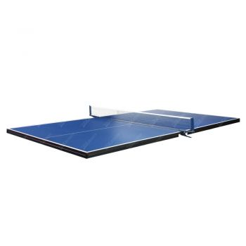 Standard Size Tennis Ping Pong Table Top - 16MM Thickness Free Bats Balls Net