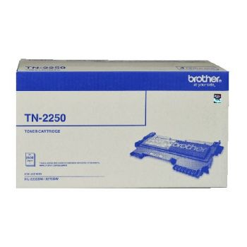 Brother TN2250 Toner Cartridge - Estimated Page Yield: 2600 pages