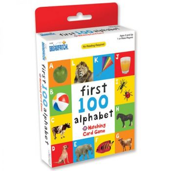 First 100 Matching Card Game - Alphabet (12pc Display)