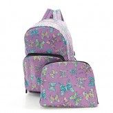 Eco Chic Lilac Butterfly Backpack