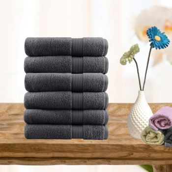 6 Piece Ultra-light Cotton Face Washers