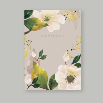 Magnolia dotted notebook 80 pages A5