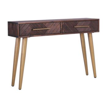 SIVAN Console Table 120cm Acacia Solid Wood - Brown