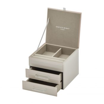 GABRIELLA Nude Small Jewellery Box