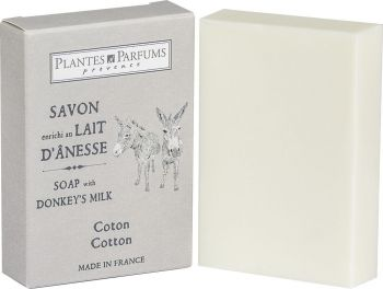Cotton Soap with Donkey Milk 100 g/3.5 oz
