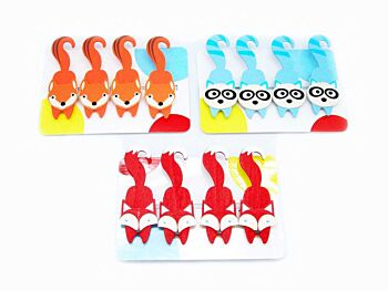 PRICE FOR ONE FOREST FRIEND PEGS W MAGNET PK RANDOMLY PICK