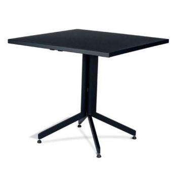 Wanika Outdoor Table 80cm X 80cm - Black Frame