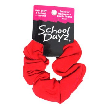 S.D Scrunchie- Red