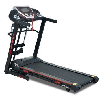JMQ Fitness 9006 Electric Treadmill 2.5HP Auto Incline with Multifunctional accessories Home Gym Exercise Machine