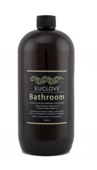 Euclove Bathroom Cleaner 1 litre refill Carton of 3 pieces