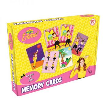 The Wiggles® Emma™ Memory Boxed Cards