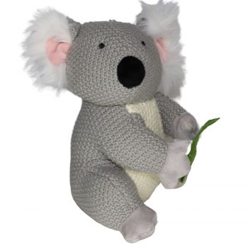 Plush Toy Koala - Eucalyptus leaf