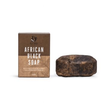 Deluxe African Black Soap 150g (30 pack) - All Natural, Certified Organic, Fair Trade Soap