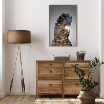 Blue And Yellow Spotted Cockatoo Wall Art