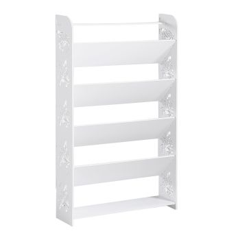 Levede 6 Tier 60cm Width Chic Hollow Storage Shoe Rack Stand Shelf Organiser