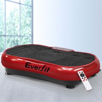 Everfit Vibration Machine Machines Platform Plate Vibrator Exercise Fit Gym Home Helth