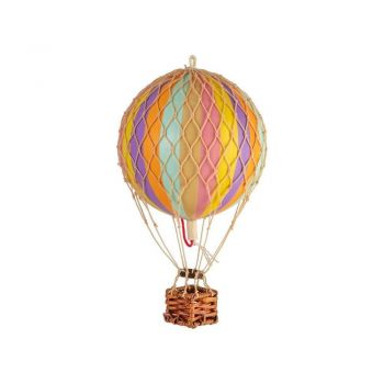 Authentic Models Floating the Skies Hot Air Balloon Model - Rainbow Pastilles