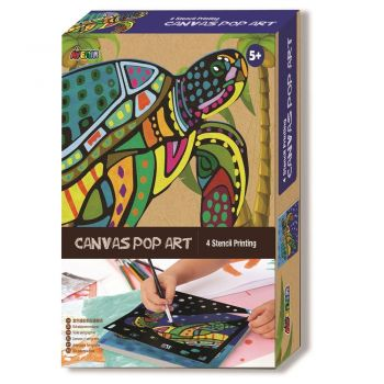 Avenir - Canvas Pop Art - Turtle