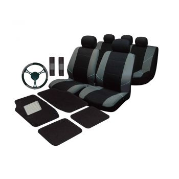 Universal Ultimate Car Accessories Value Pack- Grey