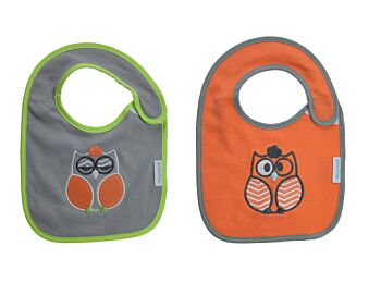 2pp Unisex Applique Bibs