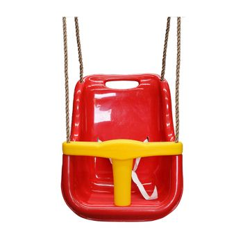 Lifespan Kids Baby Swing Seat Red with Rope Extensions