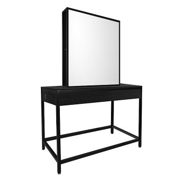 Glammar Norfolk Work Station Double Black