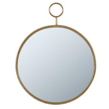 Time Piece Wall Mirror