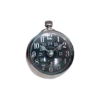 Authentic Models Library Clock XL - Silver