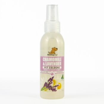Smiley Dog Chamomile & Lavender Pet Cologne 125ml