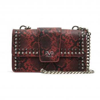 19V69 Italia Red Crossbody Bag