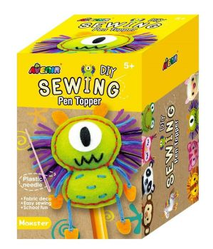 Avenir -  Sewing - Pen Topper - Monster