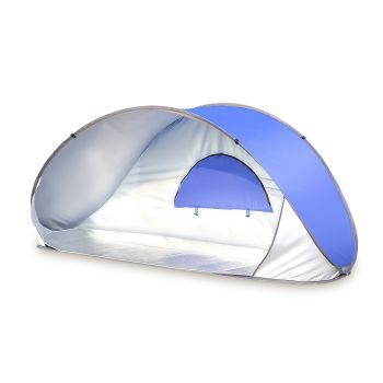 Mountview Portable Pop Up Beach Camping Tent in Teal Colour